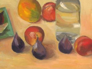 "Lorie Sava, ""Still Life with Figs"""