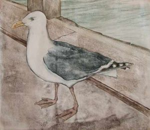 "Sandra Swan, ""Gull"""