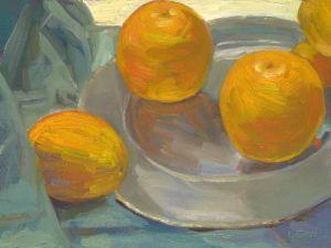 """Lorie Sava, """"Oranges"""""""