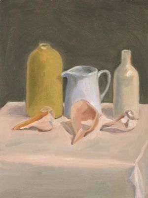 "Lorie Sava, ""Shells and Vases"""