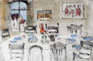 Helen Frank, 'Dining Room'