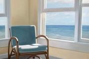 "Heidi Palmer, ""On Vacation"" oil on canvas,  30 x 24"", $7800.00"