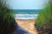 "Whitney Knapp Bowditch, ""Solitude"", oil on canvas, 30 x 40"", $3,800.00"