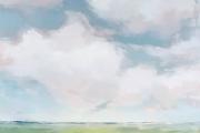 "Carrie Megan, ""It's A Feeling"", 36 x 36"",  oil on canvas,  $2700.00"