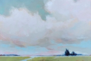 "Carrie Megan, ""Marsh Imagining"",  36 x 36"",  oil on canvas,  $2700.00"