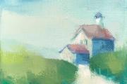 "Carrie Megan, ""North Light Mist"", 6 x 6"", oil on canvas, $250.00"