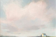"Carrie Megan, ""Seaside Cottage"", 24 x 24"", oil on canvas,  $1325.00"