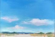 "Carrie Megan, ""Summer Days"", 12 x 12"", oil on canvas, $500.00"