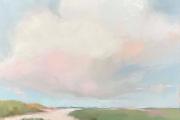 "Carrie Megan, ""Warm Sands"", 24 x 24"", oil on canvas, $1325.00"