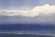 "Heidi Palmer,  ""Clouds and Sea"", monotype, 11 x 15"" $740.00"