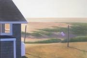 "Heidi Palmer, ""Last Day"",  oil on canvas,  20 x 25"", $5500.00"