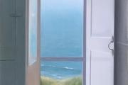 "Heidi Palmer, ""Open"", oil on canvas, 23 x 17"", $4300.00"