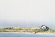 """Heidi Palmer, """"Summer Cottage"""",  monotype,  12 x 16"""", $775.00"""