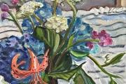 """Kate Knapp, Island Bouquet, oil on canvas, 14 x 18"""", $875.00"""