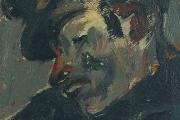 """Bernard Lamotte, """"Untitled - Sleeping Sailor"""", oil on canvas on panel, 5 x 6.75""""         $700.00"""
