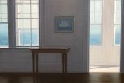 "Heidi Palmer, Sunday Morning III,  oil on canvas, 17 x 24"", 4,500.00"