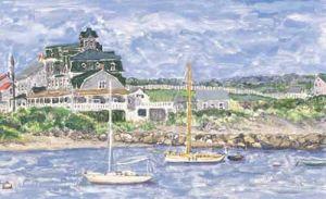 "Jessie Edwards, ""Old Harbor View"""