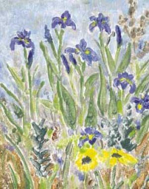 """Jessie Edwards, """"Blue Flag Iris"""""""