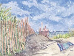 "Jessie Edwards, ""Path Through The Dunes"""
