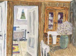 """Jessie Edwards, """"Interior View"""""""