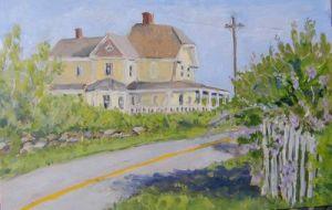 "Jessie Edwards, ""Along Corn Neck Road"""
