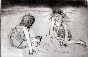 Helen Frank, 'Sand Play'