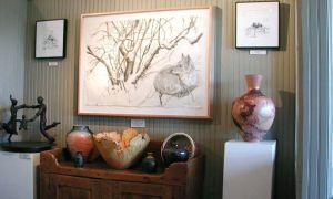 Jessie Edwards Studio, interior view